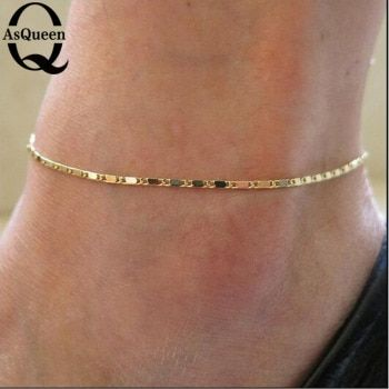Fine Sexy Anklet Ankle Bracelet Cheville Barefoot Sandals Foot Jewelry Leg Chain On Foot Pulsera Tobillo For Women Halhal