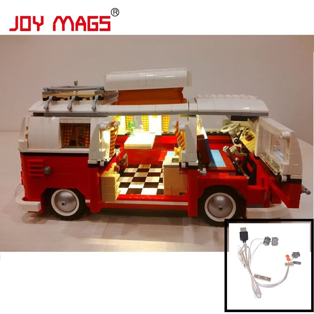 JOY MAGS Only LED Light Kit for Creator the Volkswagen T1 Camper Van Compatible with Lego 10220 21001 Excluding Model
