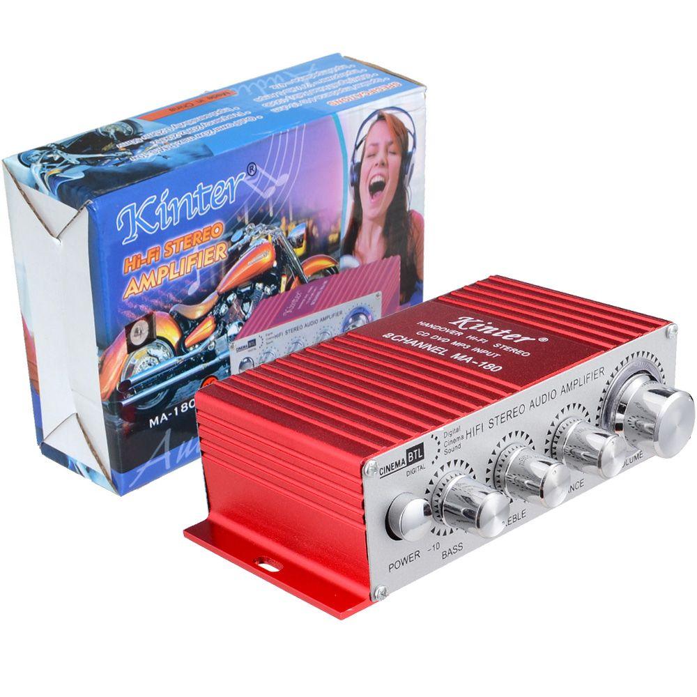 2 canaux stéréo MA-180 voiture amplificateur de puissance Mini maison Audio numérique 2 canaux BTL AMP Hifi RMS 10W livraison gratuite 10000286
