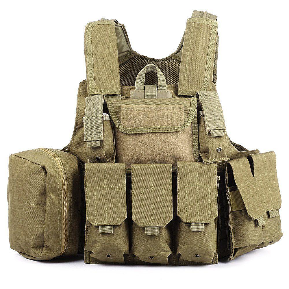 6 Farben Verschleißfestigkeit Träger Jagd Vest Military Jagd Kleidung Hochwertige 600D Oxford Militärische Taktische Kleidung