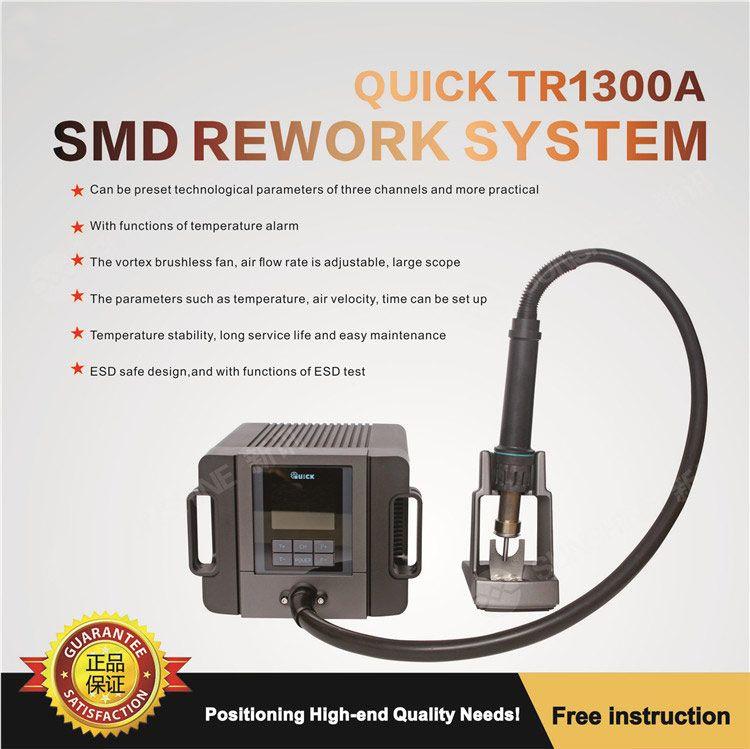 Original TR1300A intelligente heißluft lötstation handy reparatur heißluftpistole abriss schweißen 1300 Watt rework station