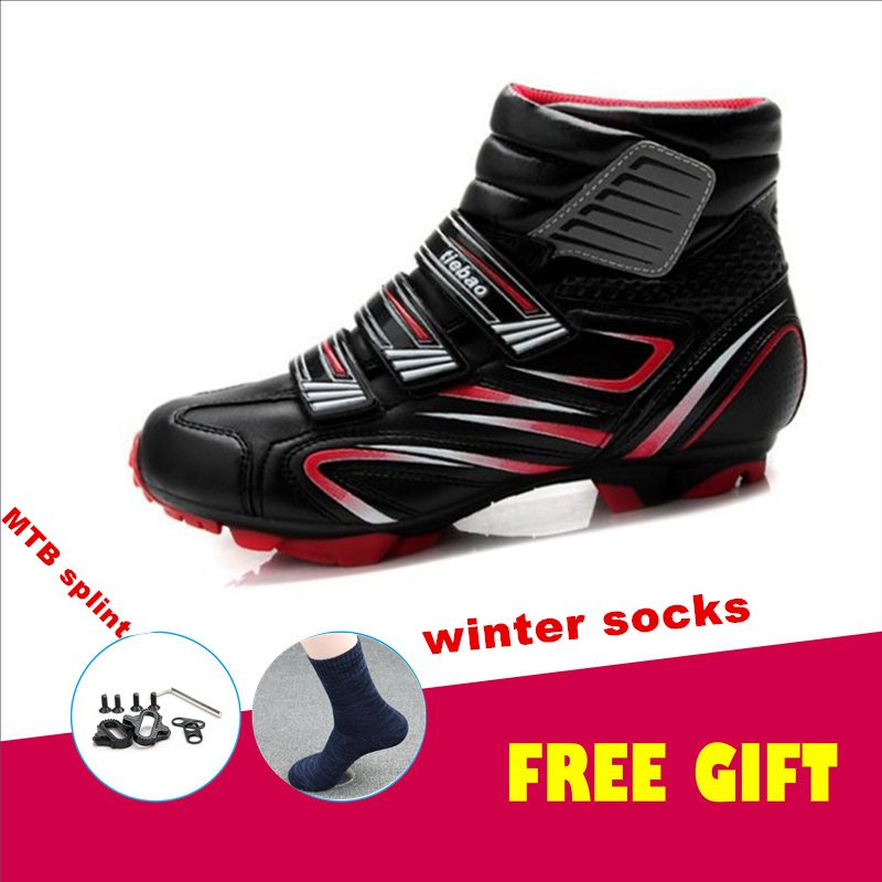 TIEBAO Sapato Ciclismo MTB Bicycle Cycling <font><b>Shoes</b></font> Men sneakers Women winter Riding Mountain Bike boots Athletic Cycle <font><b>Shoes</b></font>