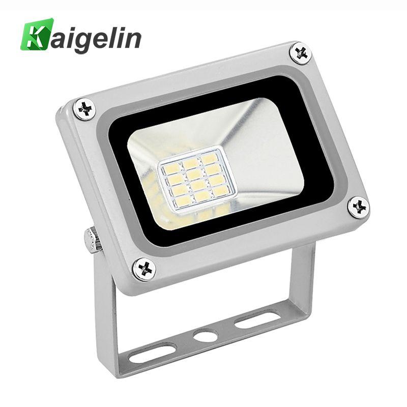 Kaigelin 10 W A MENÉ La Lumière D'inondation 12 V-24 V IP65 Étanche Projecteur À LED Refletor Spot À LED Pour L'extérieur éclairage Jardin Éclairage