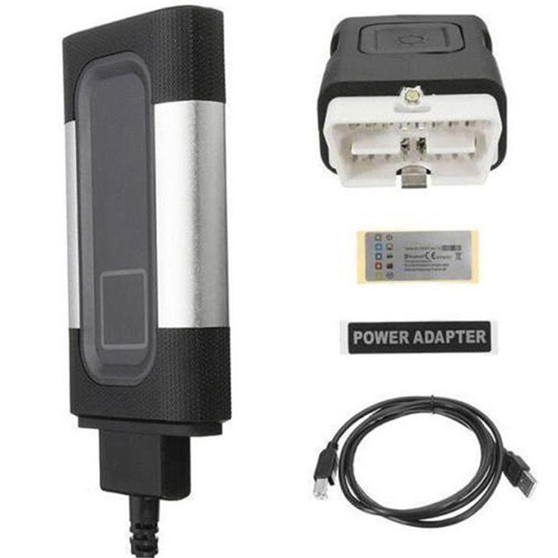 1 Pc New Bluetooth For Autocom OBD2 Diagnostic Tool TCS CDP Pro 8 Car CablesPlus Diagnostic Scanner