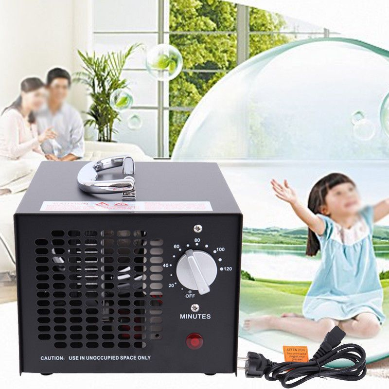 (Ship from Germany) HE-15 55W Odor Smoke Ozone Air Purifier Cleaner Generator Portable Fresh Clean Air Home Office