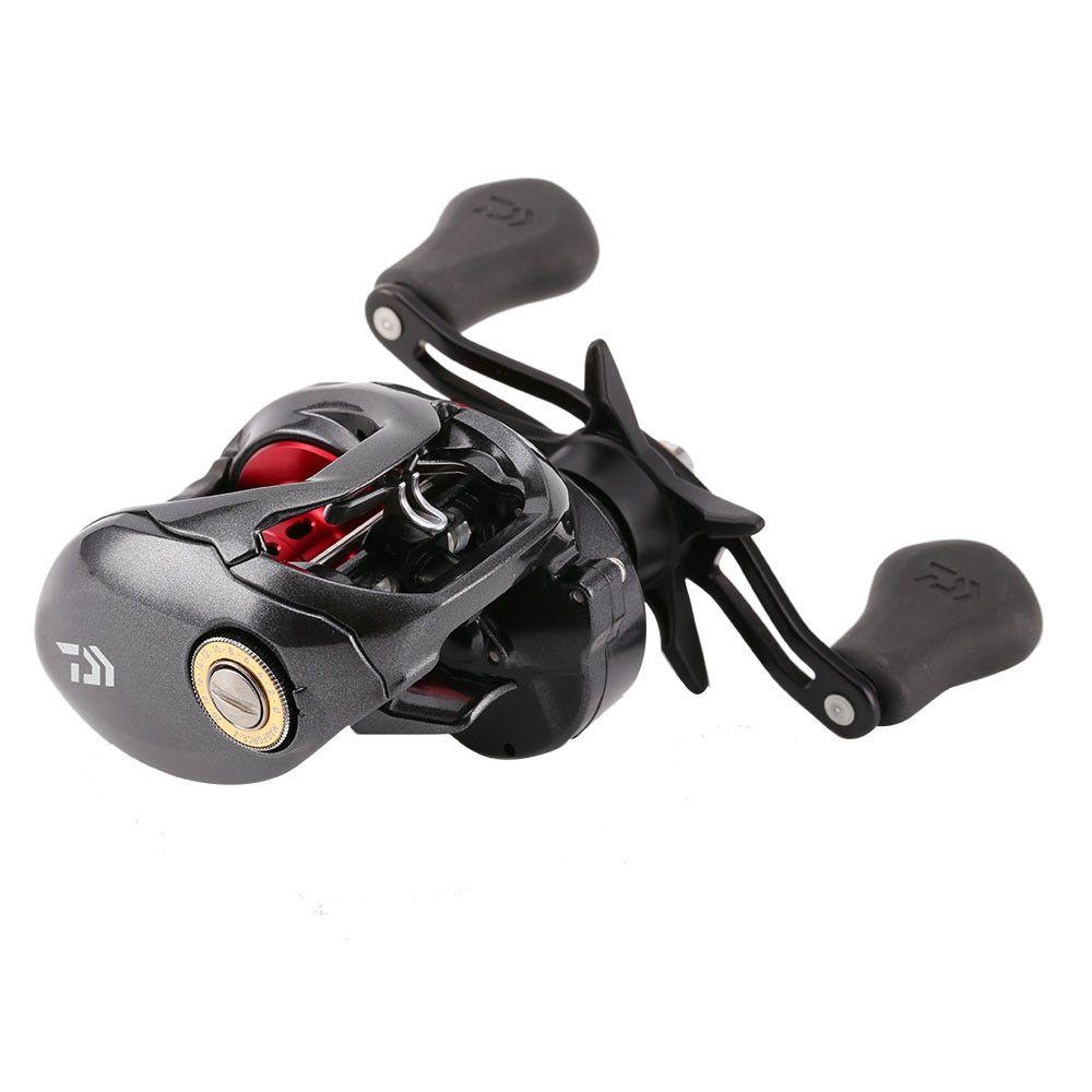 Bait Casting Fishing Reel 4 orders 210g 6.3:1 7.3:1 Black Red Metal Water Drop Wheel right or left hand