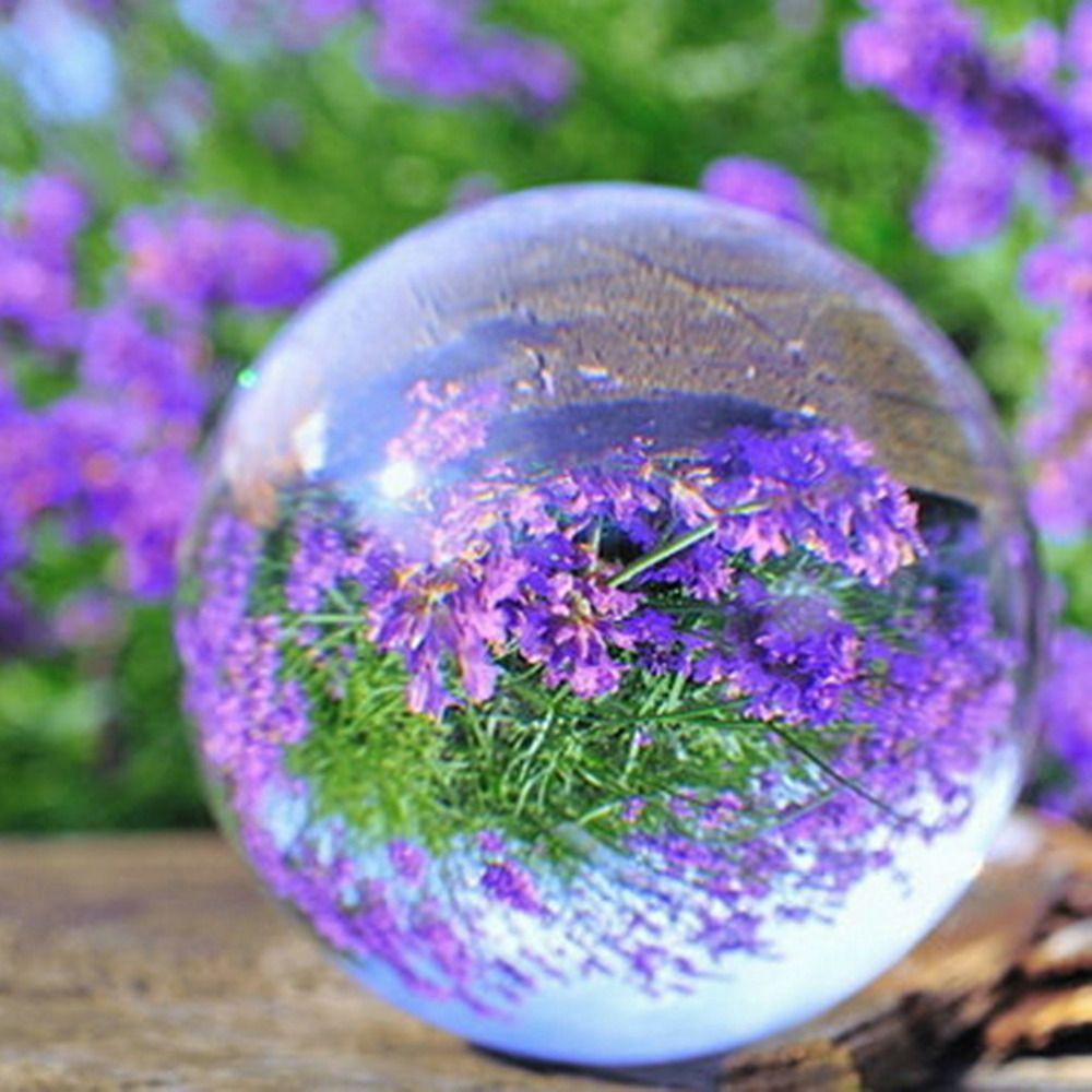 60mm Boule de Verre Clair Rare Naturel Quartz Cristal Sphère Effacer Magic Ball Chakra Guérison Gemme Merveilleux Cadeau Drop Shipping