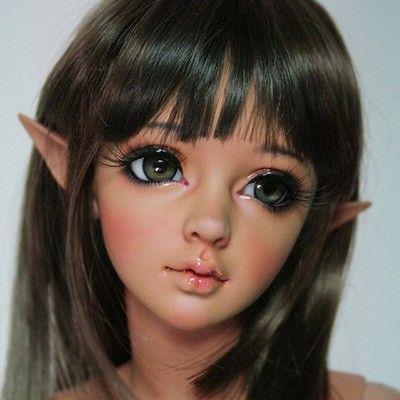 Высокое качество империи кукла Lina 1/3 BJD эльфов уши SD куклы отправить Бесплатная доставка