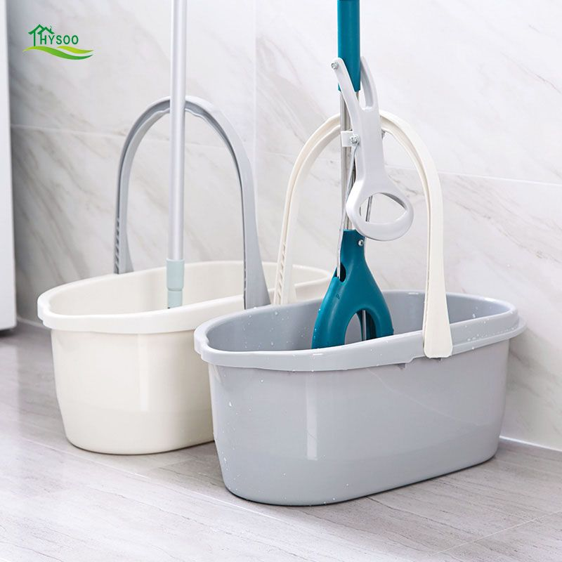 Simple rectangular mop cleaning bucket thickened portable plastic bucket household cleaning bucket car wash bucket