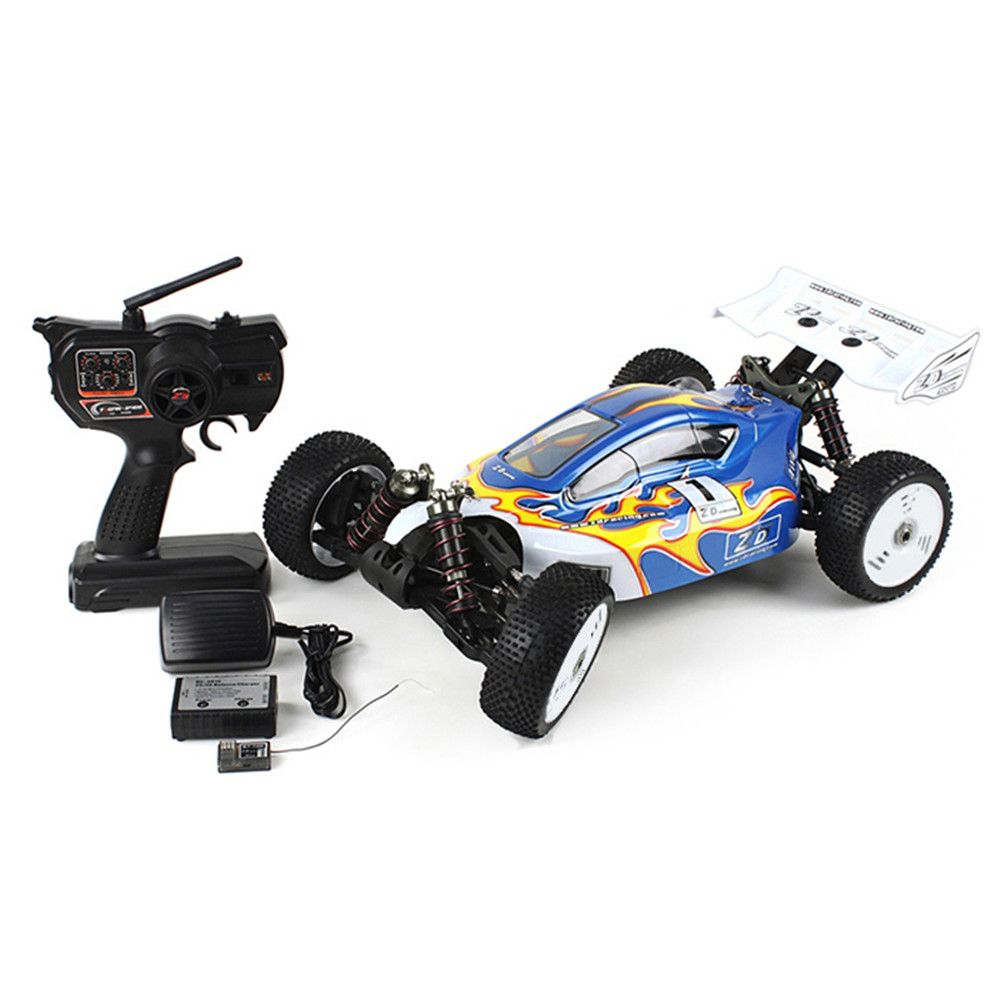 ZD Racing RC Cars Toy 1:8 RC Off-Road Running Truck RTR 2.4GHz 4WD 9kg High-Torque Servo Shock Absorbers Driving Racing Car Toys