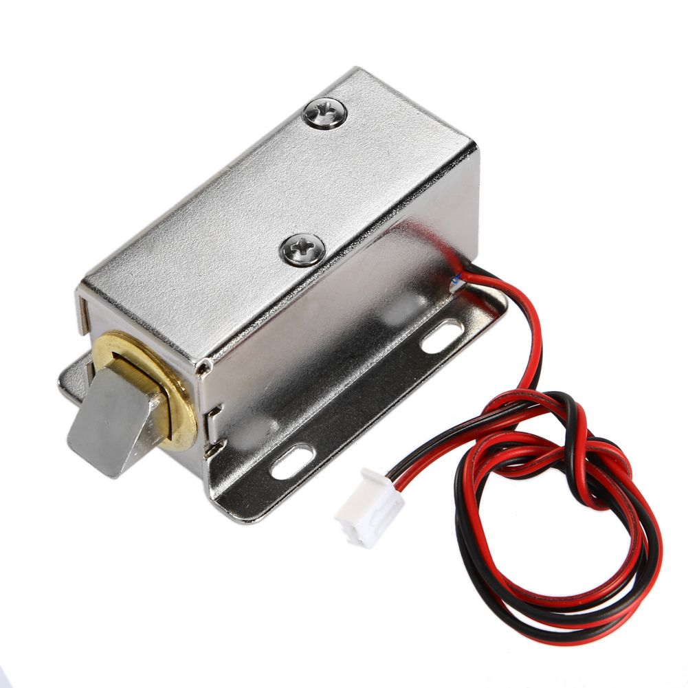 9.8mm Electronic Door Lock DC12V Small Electric Locks Cabinet Locks Drawer Small Electric Lock Rfid Access Control