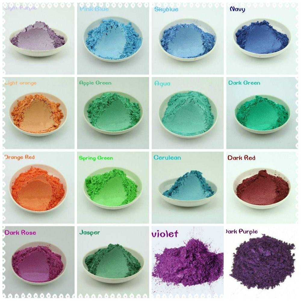 50 g santé naturelle minérale poudre de Mica bricolage pour savon Dye savon Colorant maquillage fard à paupières poudre de savon livraison gratuite