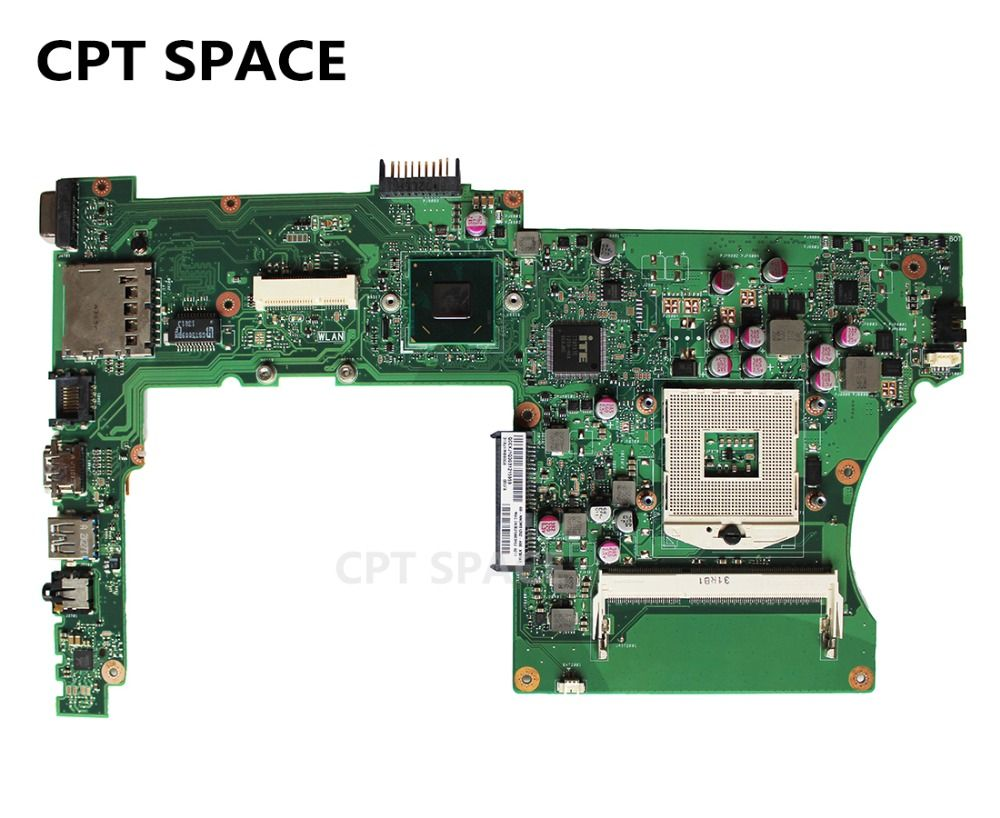 YTAI For ASUS X401A X501A X301A Laptop Motherboard REV2.0 DDR3 PGA989 mainboard 100% working