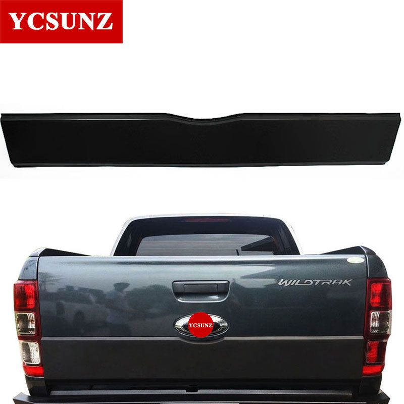 2012-2017 Accessories For Ford Ranger Tailgate Trim Panel Bottom Board Cover Suitable Ford Ranger T6 T7 Wildtrak Ycsunz