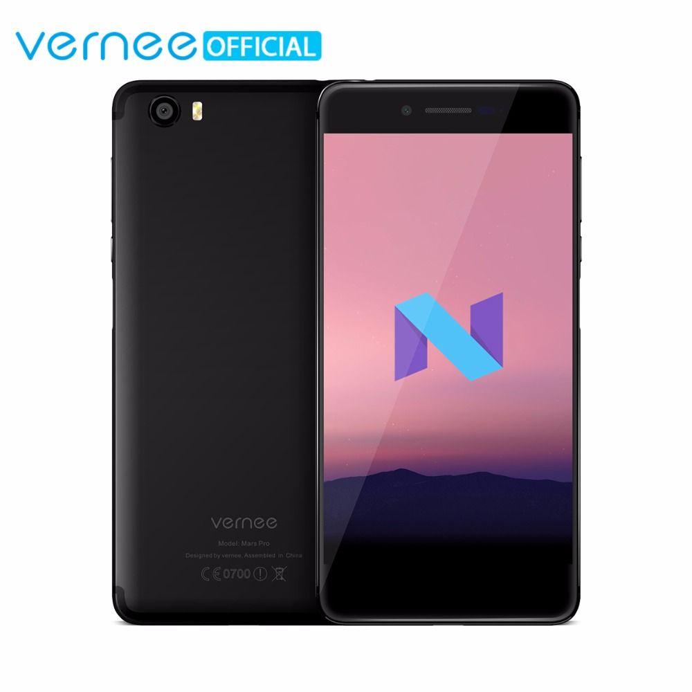 Vernee Mars Pro 4G Lte Mobile Phone 6G RAM 64G ROM MTK6757 Helio P25 Octa core 5.5