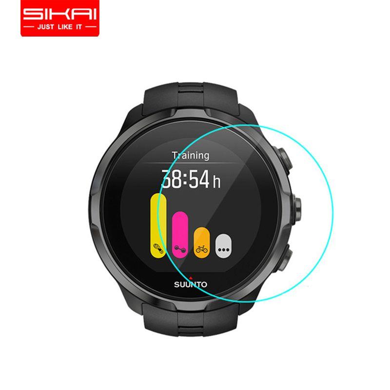 3 pièces verre trempé protecteur d'écran pour Suunto sparan Sport montre écran gardes Film de protection pour Suunto montre intelligente D42mm