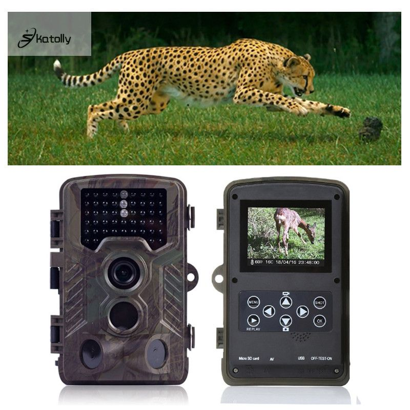 Skatolly H801 IP56 Tactical Jagd Kamera Infrarot Trail Spiel Staubdicht Präzise Für Outdoor Jagd Kamera Pk HC300m HC-500M
