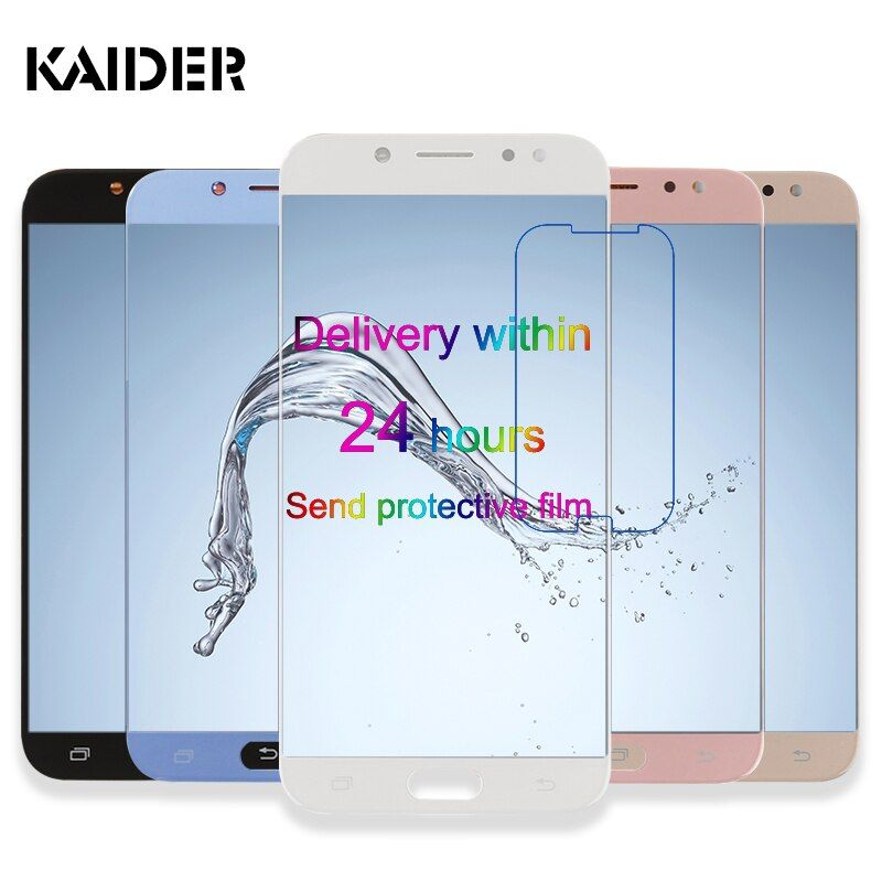 LCD Display Touchscreen Für Samsung Galaxy J7 Lcds 2017 J730 J730F SM-J730F Digitizer Montage Telefon Ersatzteile