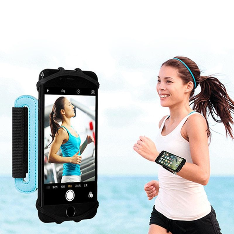 Wrist phone band Phone Holder 180 Degree Rotatable for Cycling Gym Jogging Warking Running Wristband Sport case for iphone 5s