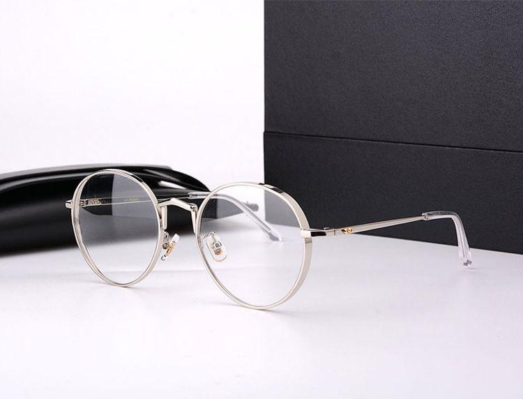 Vintage doux marque optique lunettes De prescription cadre titane GM cadre rond Liberty lunettes cadre Oculos De Grau avec boîte