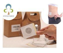 10 pcs/lot Tradisional obat Cina stiker magnet stiker menurunkan berat badan navel paste LYQ