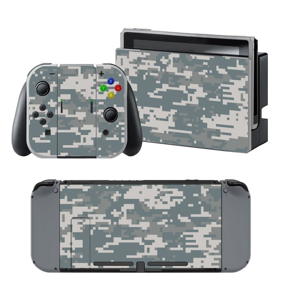 NS NX Accessories, Vinyl Skin Sticker for Nintendo Switch Console Protector Cover Decal Vinyl Skin for Skins Stickers 0112