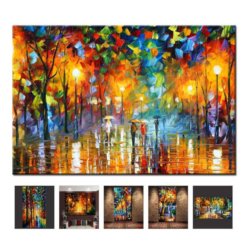 2019 Réel Peintures Peint À La Main Peinture À L'huile Toile Belle Couple Pour Salon Wall Art Décor À La Maison Abstrait Photo No cadre