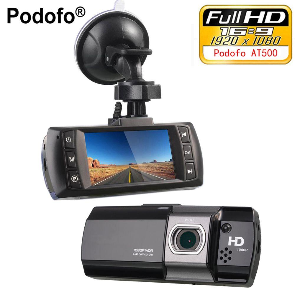 Podofo Novatek 96650 Car DVR Camera Topbox AT550 Full HD 1080P Video Registrator Recorder HDR G-sensor Night Vision Dash Cam