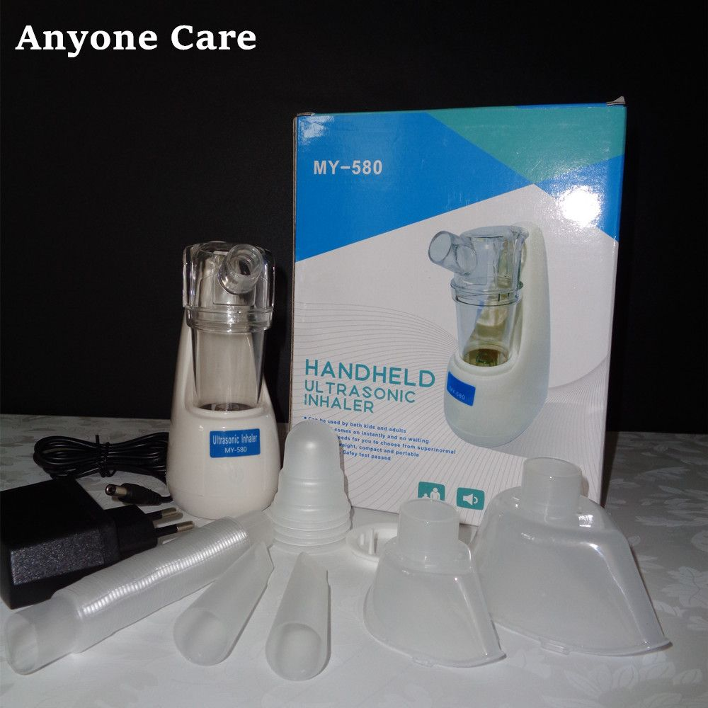 2018 New Handheld ultrasonic Inhaler atomizer sprayer aroma steamer Household Mini Nebulizer Asthma Respirator Steaming Devices