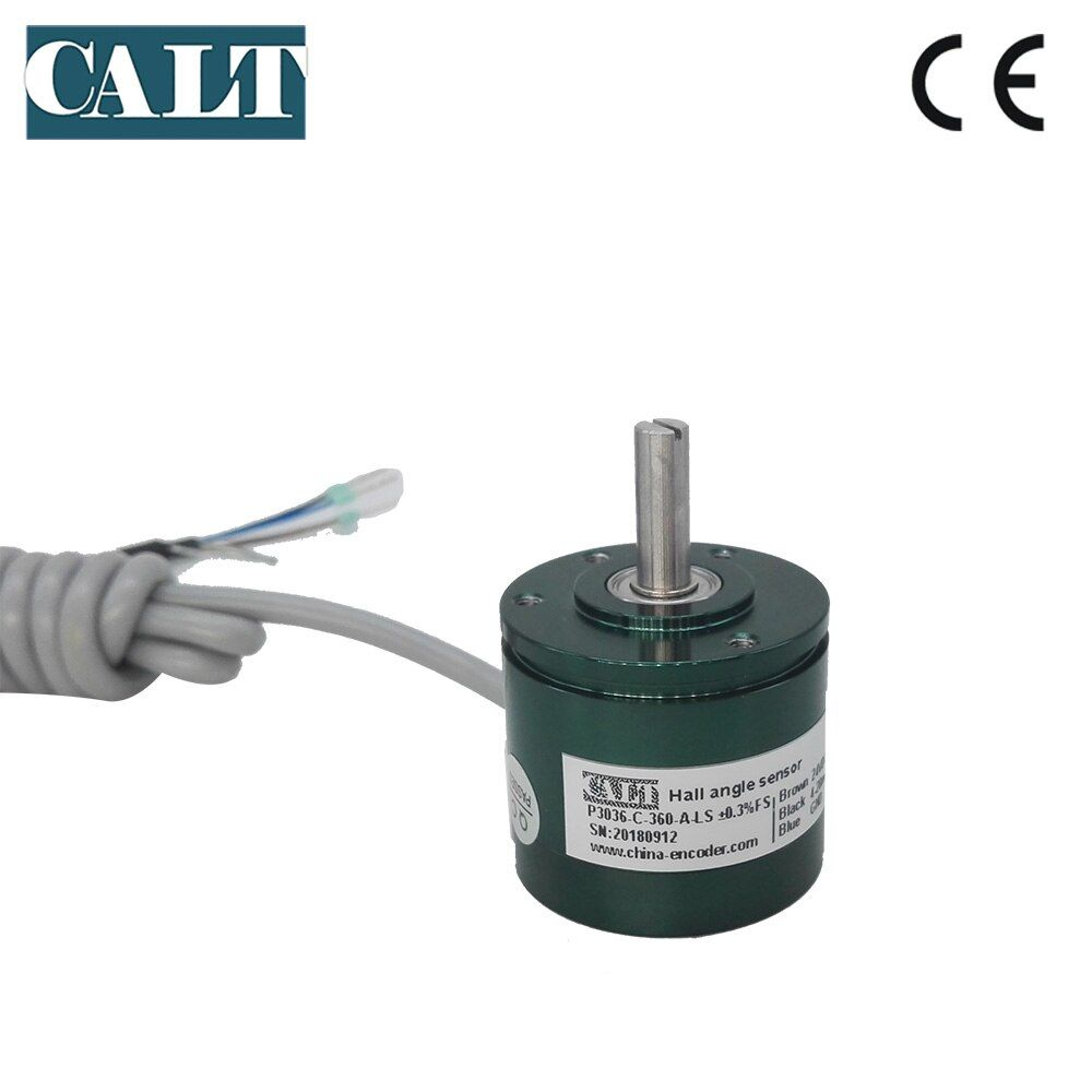 CALT analog megnetic contactless Digital Potentiometer hall magnetic angle 360 degree encoder 4 to 20 mA output