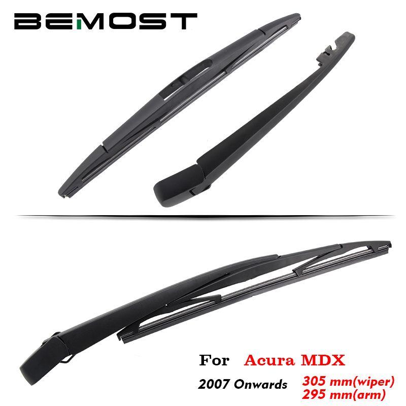 BEMOST Auto Auto Heckscheibe Wischer Arm Klinge Weiche Natürliche Gummi Für Acura MDX 305mm 2007 Ab Fließheck Zubehör
