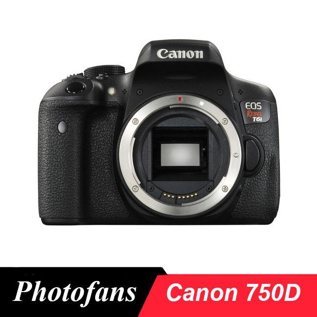 Canon 750D/Rebel T6i DSLR Kamera-24,2 megapixel-3,0 Variabler Winkel Touchscreen-Full HD 1080 p-Wi-Fi