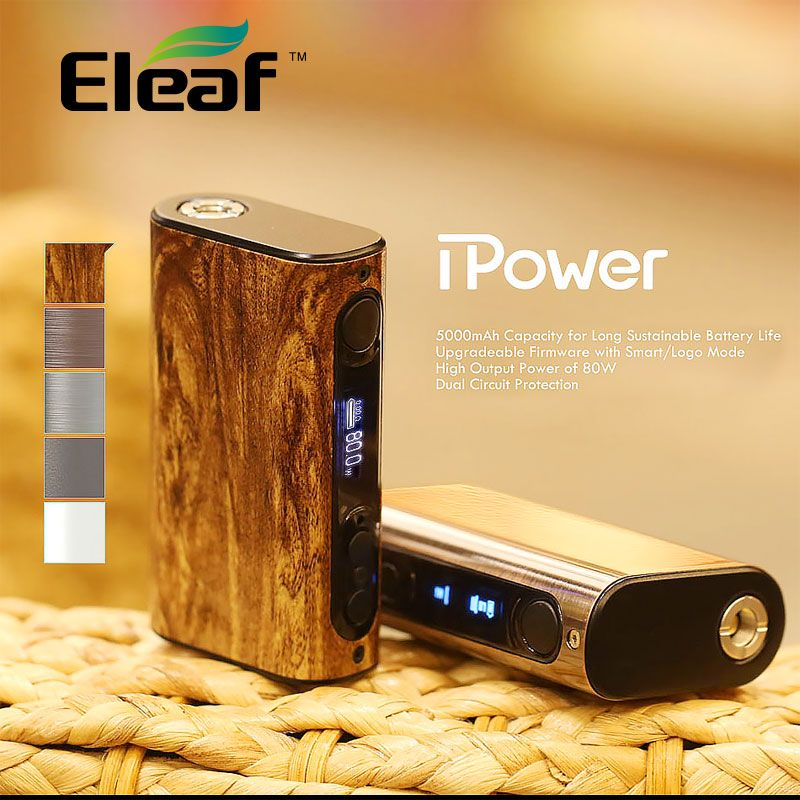 Original Eleaf iPower 80W MOD 5000mah Battery & 40W iStick Power Nano Mod 1100mah Fit Melo 3/ Melo 3 Mini Tank E-Cig Vape Mod