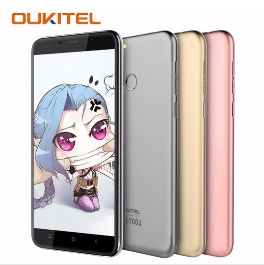 OUKITEL U20 Plus 4G LET Fingerprint 5.5
