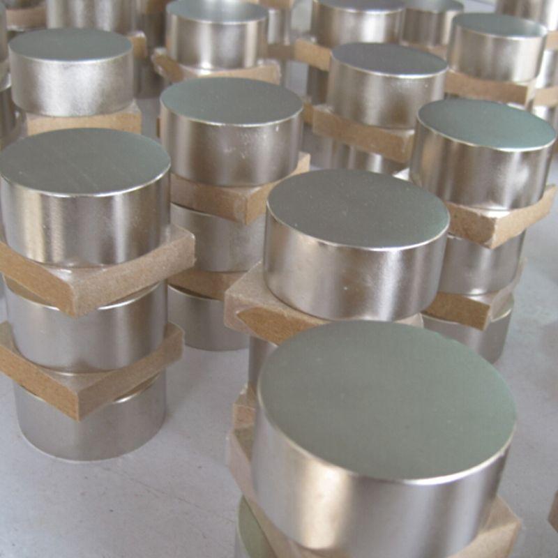 50x30mm néodyme N52 aimant plus fort rond aimants terre Rare NdFeb magnétique matériau aimant ralentir compteur de gaz d'eau