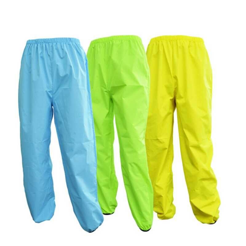 Rainproof Waterproof Cycling Pants Women Men Bicycle Clothing MTB Breathable Outdoor Sports Riding Trousers Bike Long Rain Pants