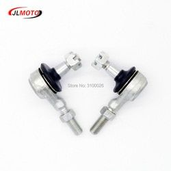 1 Pair M10 Left & Right Hand Thread Steering Tie Rod Ends Fit For Yamaha Banshee WARRIOR YFB YFM Raptor 250 350 400  ATV Parts