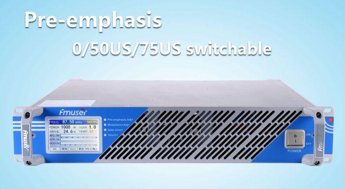 FSN-350A 350 W Professionelle FM Erreger und Broadcast Radio Sender 87,5-108 MHz abdeckung 15 KM-20 KM freies Verschiffen