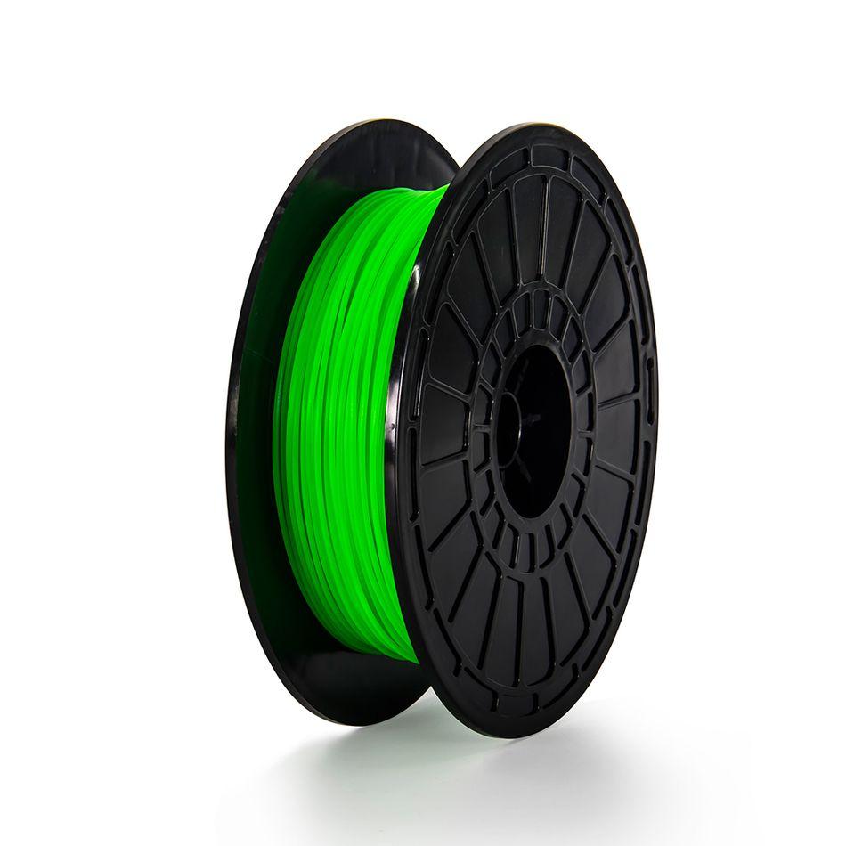 FlashForge 3D Printer Filament 1.75mm Green Filament PLA 0.6 kg Spool 3d printer filament