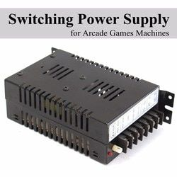 For Jamma Game Arcade Cabinet 5V/10A 12V/2A -5V/1A Output Switch Power Supply Universal AC input For Arcade Game Console Machine