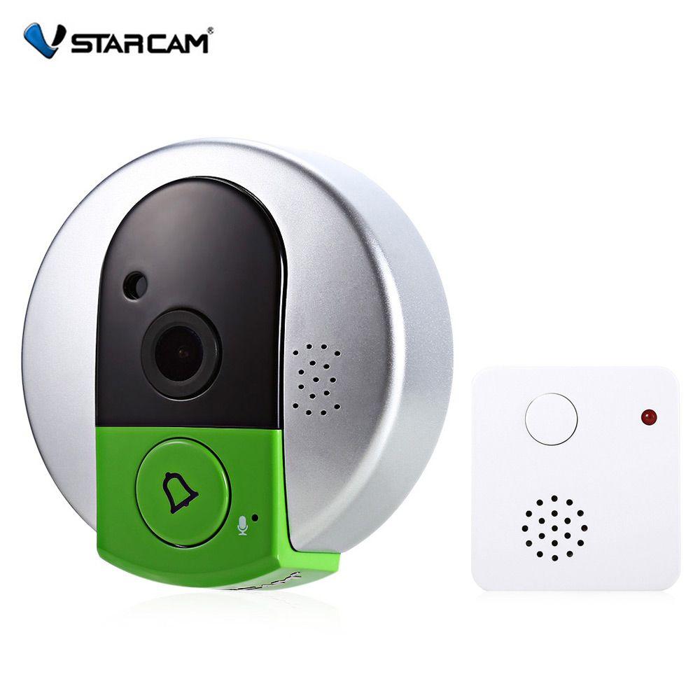 VStarcam C95 720 P WiFi Smart Камера Дверные звонки Ночное видение Широкий формат Запись видео фото Стрельба цифровой сигнализации doorcam