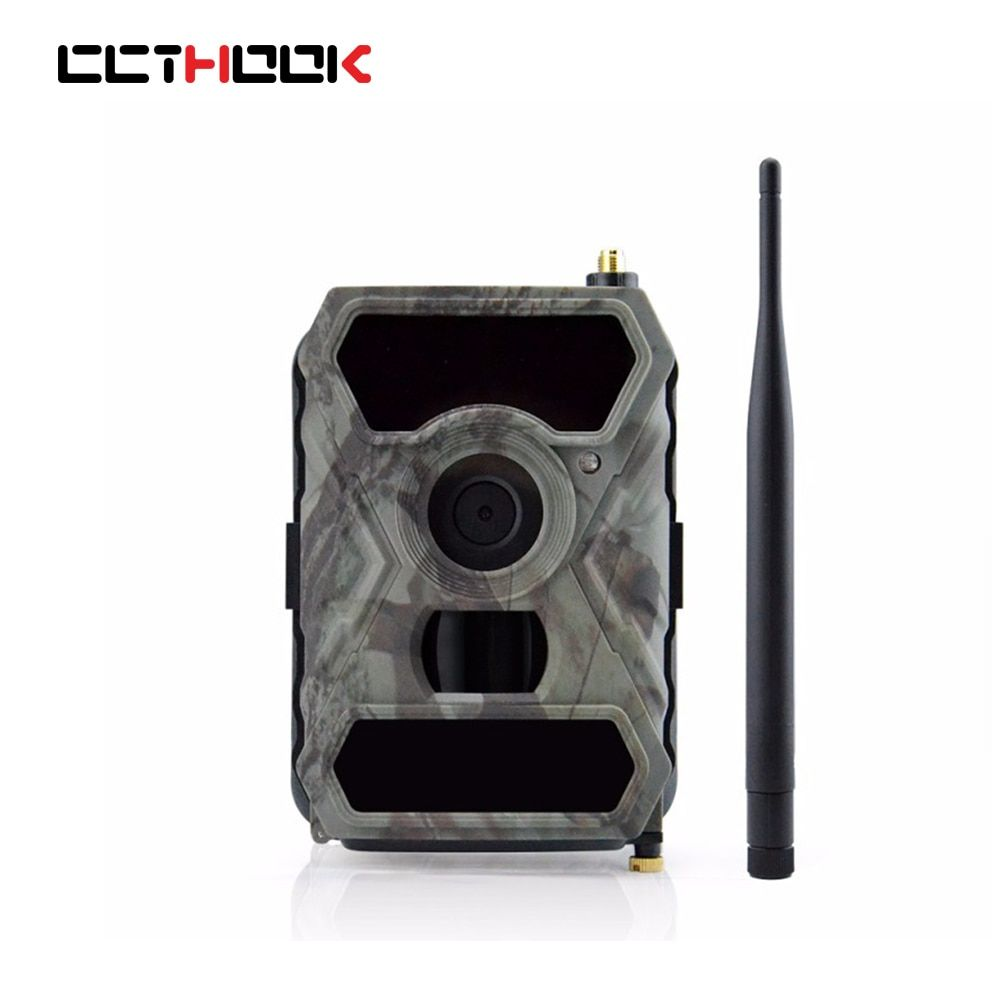 CCTHOOK 3G Mobile Trail Camera IP54 Waterproof 12MP Picture 1080P Video Recording Hunting Camera APP Control Surveillance Camera