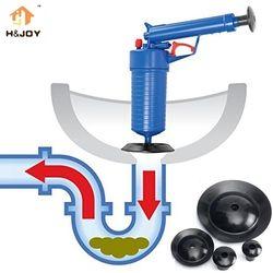 Aire de alta presión Blaster drenaje Aseos limpiador herramienta filtro fregadero dragado tubería émbolo pelo quitar limpiador de cocina Kit