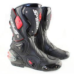Nuevo Modelo de motocicleta botas/zapatos de carreras de motocicleta/bicicleta/equitación b1001