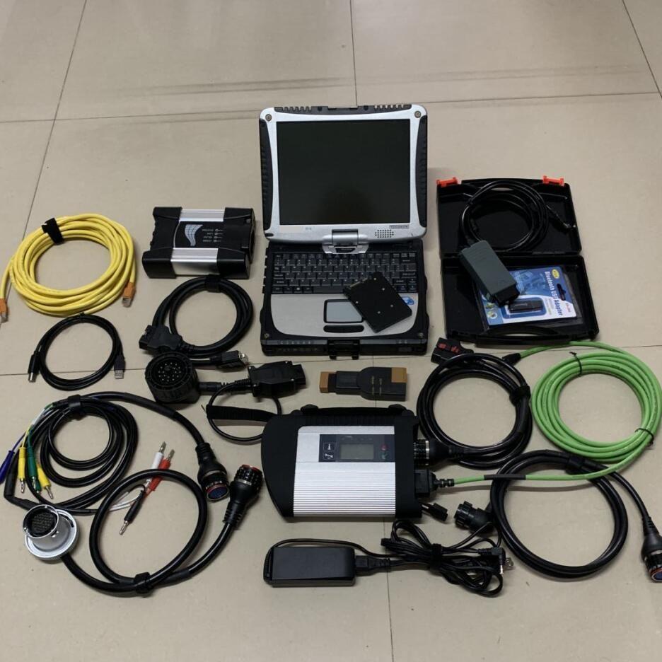 3in1 diagnose werkzeug für bmw icom nächsten mb star c4 vas5054a odis 1 tb ssd software installiert in cf30 militär laptop bereit zu verwenden