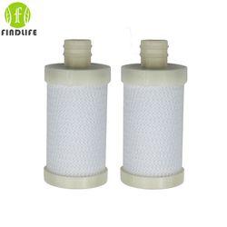 2 unids/lote fábrica venta hogar cocina hogar filtro de carbón activado cartucho de filtro purificador grifo agua del grifo