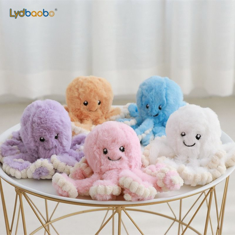 1pc 18cm Creative Octopus Plush Toys Octopus Whale Dolls & Stuffed Toys Plush Small Pendant Sea Animal Toys Children Baby Gifts