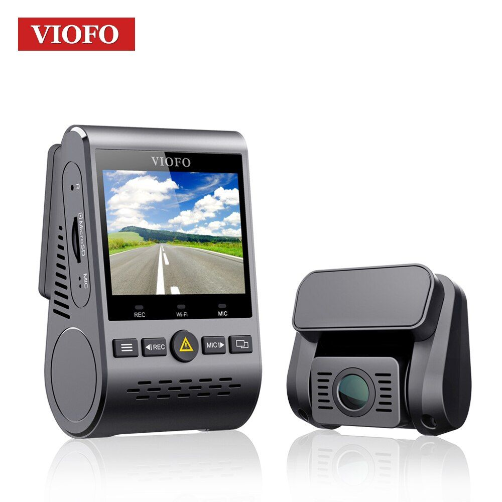 VIOFO A129 Duo Dual Channel 5GHz Wi-Fi Full HD Dash Cam Camera Sensor IMX291 HD Dual 1080P Car DVR with GPS