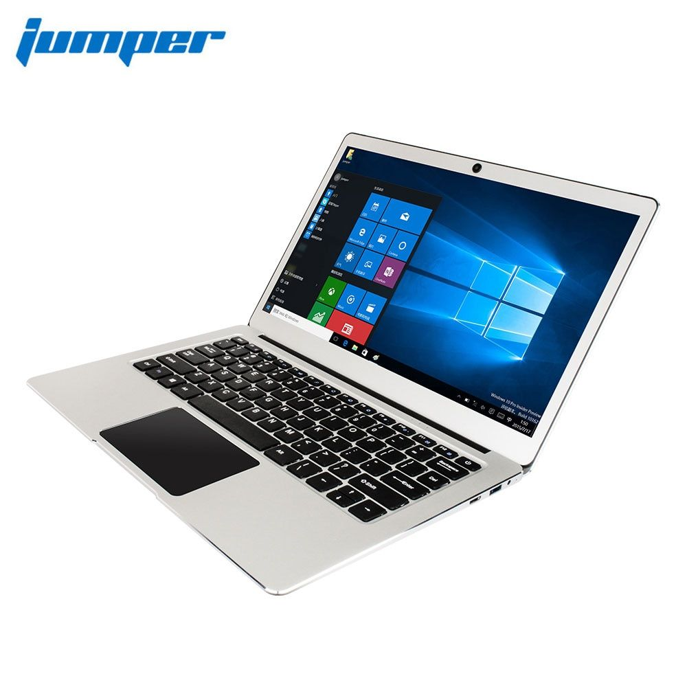 Jumper EZbook 3 Pro Dual Band AC Wifi 13.3 laptop Apollo Lake N3450 with SATA M.2 SSD Slot 6GB RAM metal case Win10 notebook