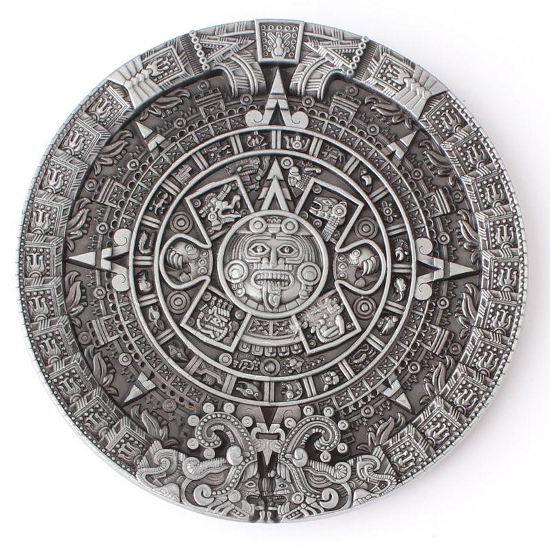 La boucle de ceinture calendrier solaire aztèque